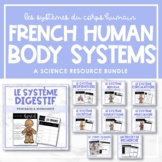 Les systèmes du corps humain   French Human Body Resource Bundle