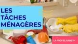 Les tâches ménagères en français. Niveau A1 de FLE
