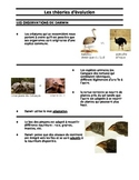 BIOLOGIE_Les theories d'evolution