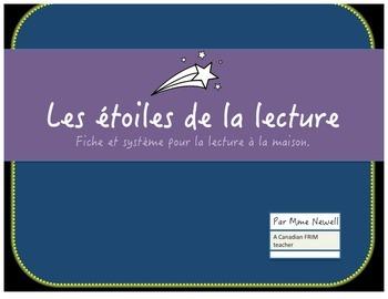 Les étoiles de la lecture: A French Immersion Home Reading Program