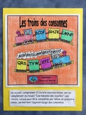 Les trains des consonnes - FRENCH - 17 Phonic Student Work Booklets - Grade 1