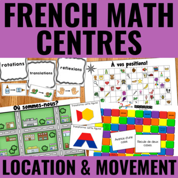 Les transformations géométriques - Transformational Geometry Centers French