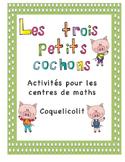 Les trois petits cochons - Centres de maths