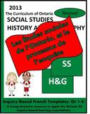 Les Études sociales de l'Ontario et le processus d'enquête