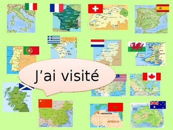 Les vacances (perfect tense with -er- verbs)