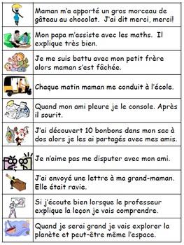 Les verbes 4: Je pratique mon vocabulaire {French Vocabulary Practice}