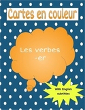Les verbes -ER / -ER Verbs Task Cards