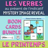 Verbes au présent de l'indicatif | French Verbs Image Reve