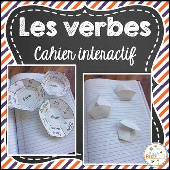 Les verbes - cahier interactif - French Verbs Interactive Notebook