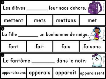 Les verbes du troisième groupe (-re) - Ensemble - 3 activités - bundle