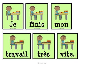 """Les verbes en """"ir"""" (deuxième groupe) - Ensemble - 3 activités"""