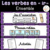 """Les verbes en """"ir"""" (deuxième groupe) - Ensemble - 3 activités - bundle"""