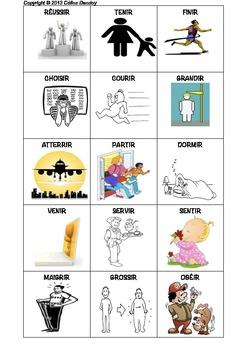 Les verbes illustrés en francais - LES VERBES EN IRE ET DRE