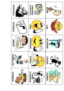 Les verbes illustrés en francais : vocabulaire et conversation