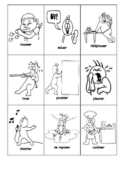 Les verbes illustrés en francais - LES VERBES EN ER