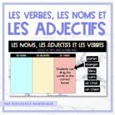 FRENCH les verbes, les noms et les adjectifs - Distance Learning