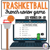 Les verbes réguliers en -er Trashketball review game
