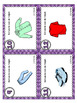 Les vêtements French clothing vocabulary puzzle and task cards