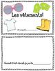 Les vêtements: Mini book!