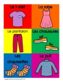 Les Vêtements | Clothes in French