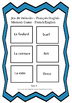 French - Clothing and ER verbs (Les vêtements et les verbe