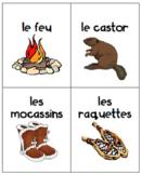 Les voyageurs - cartes de vocabulaire