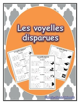 Les voyelles disparues / French Missing vowels