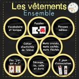 Les vêtements - Ensemble complet/ French clothing bundle