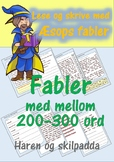 Lese og skrive med Æsops fabler: Haren og skilpadda