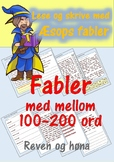 Lese og skrive med Æsops fabler: Reven og høna