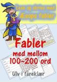 Lese og skrive med Æsops fabler: Ulv i fåreklær