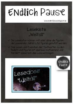 "Lesekiste ""Weltall"""