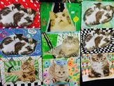 Lesley Ivory - Cat Art