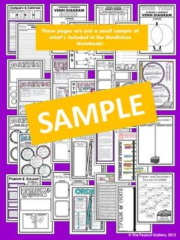 """Less Mess"" Interactive Notebook Reading/ELA Bundle"