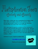 Less Stress Multiplication Facts