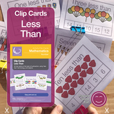 Less Than Clip Cards