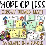 Less Than Greater Than Circus Theme