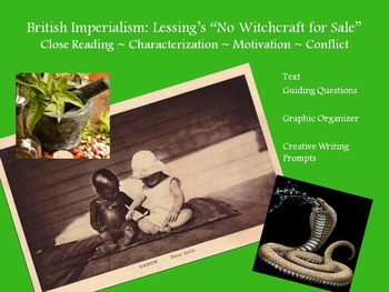 """Lessing's """"No Witchcraft"""" – Characterization, Motivation, Conflict"""