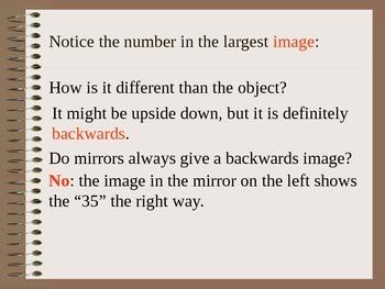 Lesson 06 Reflecting Light off Plane Mirror Lab