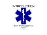 EMT/EMR LESSON ON INTRODUCTION TO EMERGENCY CARE/RESEARCH