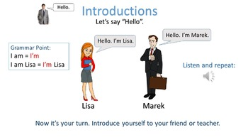 Beginner Lesson 1.1 Introductions
