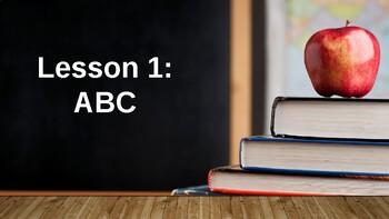 Lesson 1 - ABC