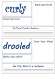 Journeys 2nd Grade Henry and Mudge Vocabulary Task Cards