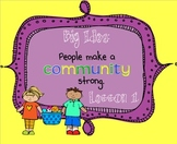Lesson 1: Houghton Mifflin Journeys 3rd grade for SMART Board