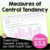 Measures of Central Tendency (Algebra 2 - Unit 13)