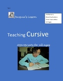 Teaching Cursive