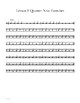 Lesson 1 - Snare Drum Mastery 101 - Basic notes and rest for snare drum