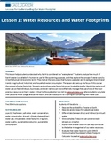 High School — Lesson 1: Water Resources and Water Footprints