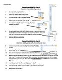 Lesson 1 - data in spreadsheet cells