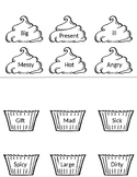 """Journey's Lesson 10 """"A Cupcake Party"""" Synonym activity"""